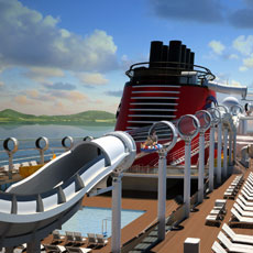 Disney Dream Features the Latest in Techno-Cruising